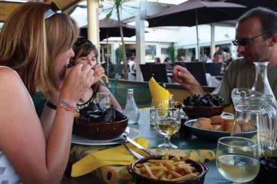 Posiłek w śródziemnomorskim stylu