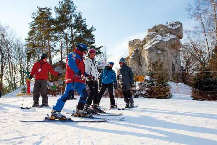 Stok-narciarski-w-Morsku-na-Jurze-Krakowsko-Częstochowskiej-fot