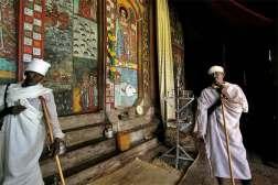 Klasztor na wyspach na jeziorze Tana