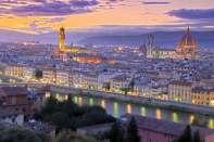 Panorama Florencji, stolicy Toskanii