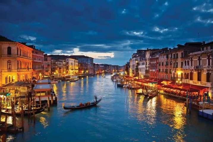 Wenecja, malowniczy Canal Grande