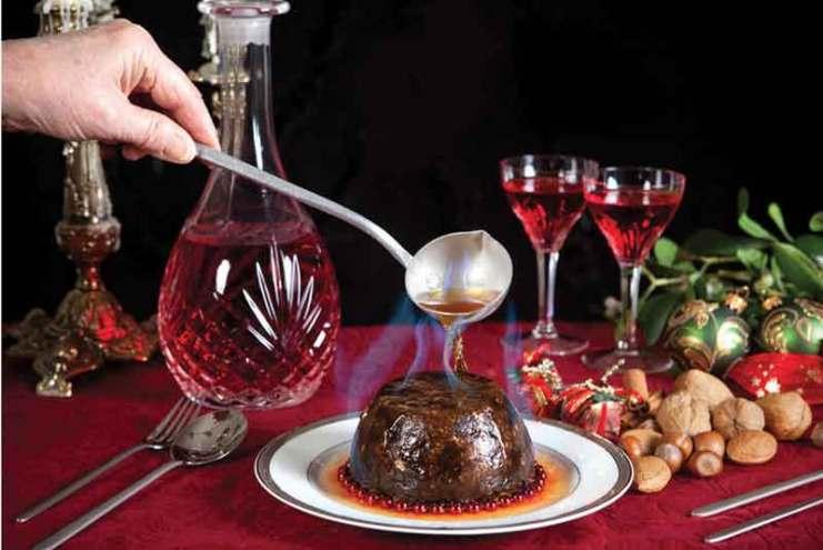Bożonarodzeniowy pudding