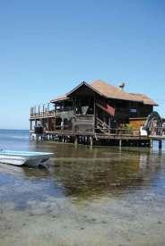 Dom na wyspie Utila