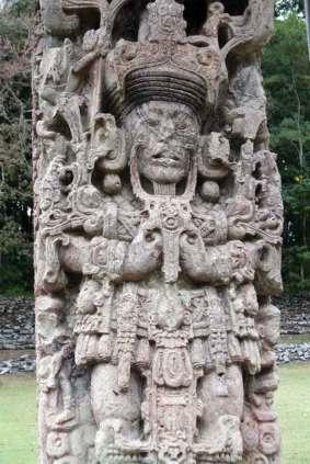 Zabytek z czasów Majów w Copán