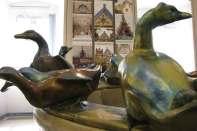 Ekspozycja w Muzeum Zsolnay