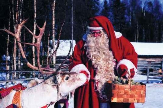 Św. Mikołaj mieszka w Rovaniemi