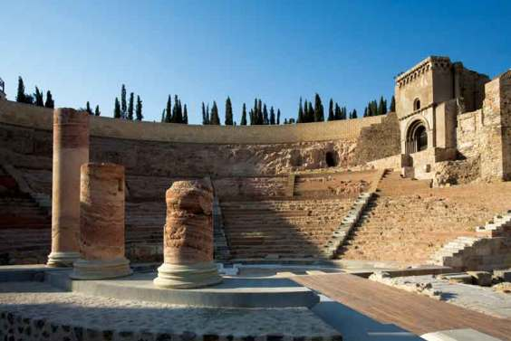 Teatr rzymski w Kartagenie