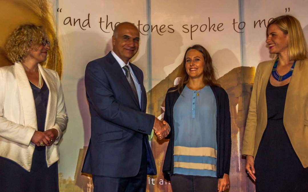 Winkowska po raz drugi  ambasadorką sportów wodnych w Egipcie.
