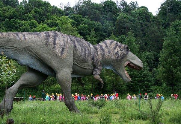 T. rex z Bałtowa, fot. Paweł Wroński