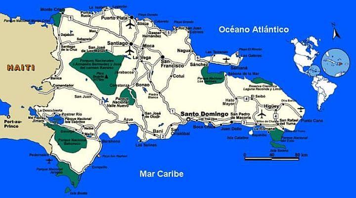 Parki Narodowe () na Dominikanie