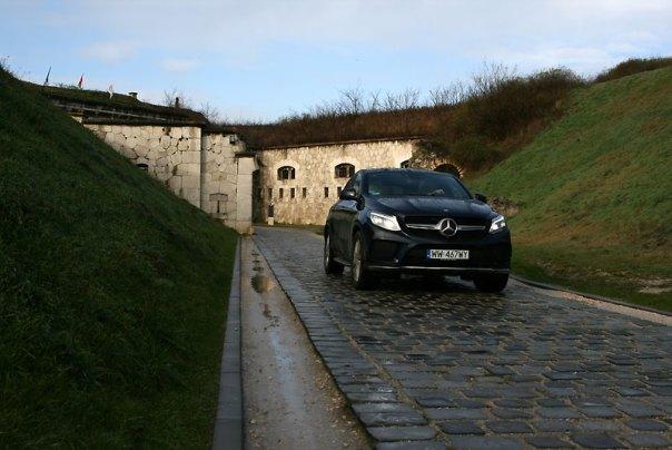 Mercedes GLE 380D 4Matic Coupe w Forcie Monostor w Komarnie, fot. Paweł Wroński