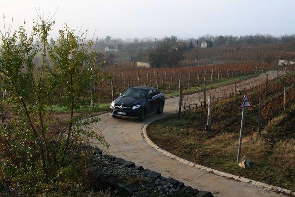 Mercedes-Benz GLE 350D 4Matic Coupe w Somló, fot. Paweł Wroński