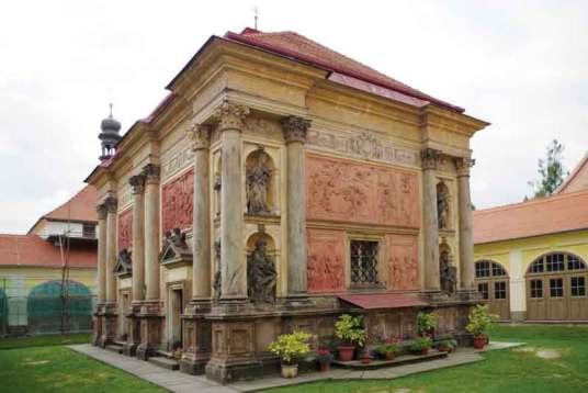 Święty Domek wRumburku – perła baroku ażkipi ilością detali