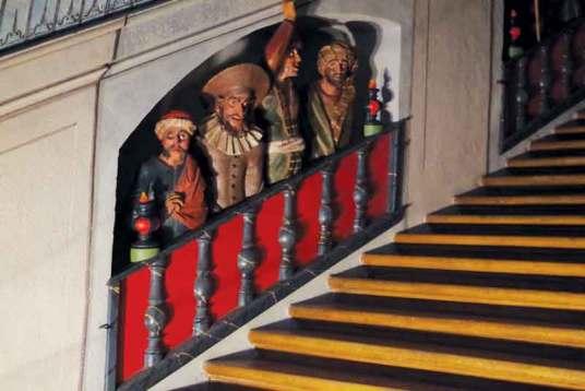 Żydzi przy Świętych Schodach wRumburku