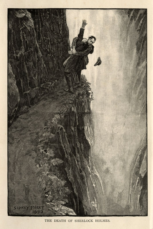 Ilustracja noweli z 1893 roku; źródło: Wikipedia