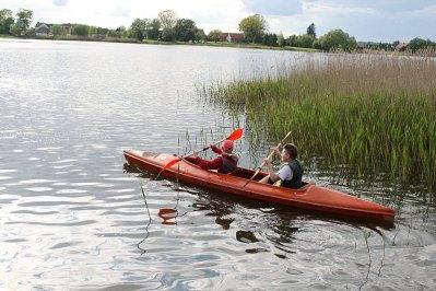 Pod opieką WOPR na Jeziorze Brajnickim, fot. Paweł Wroński