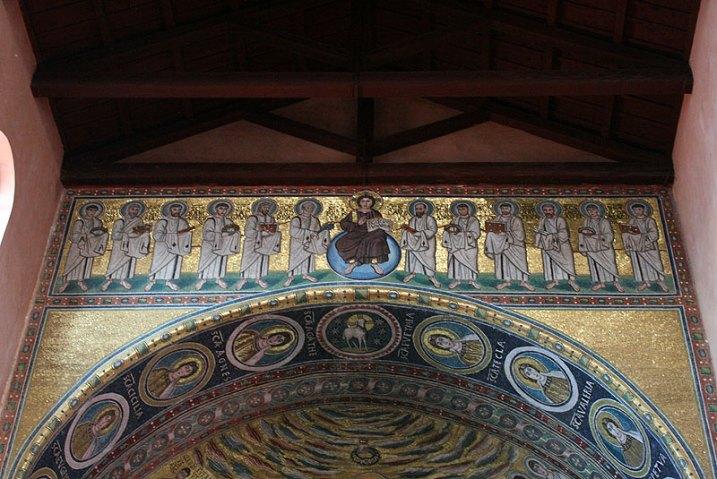 Deesis z głównej nawy poreckiej bazyliki, fot. Paweł Wroński