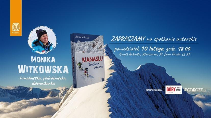 Monika Witkowska – zapraszamy na spotkanie autorskie