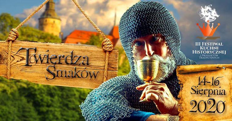 III Festiwal Kuchni Historycznej – Twierdza Smaków Zamek Czocha – 14-16.08.2020