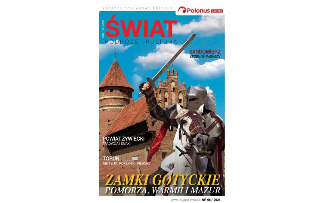 Magazyn Świat Podróże Kultura – Zakochaj się w Polsce – 66/2021