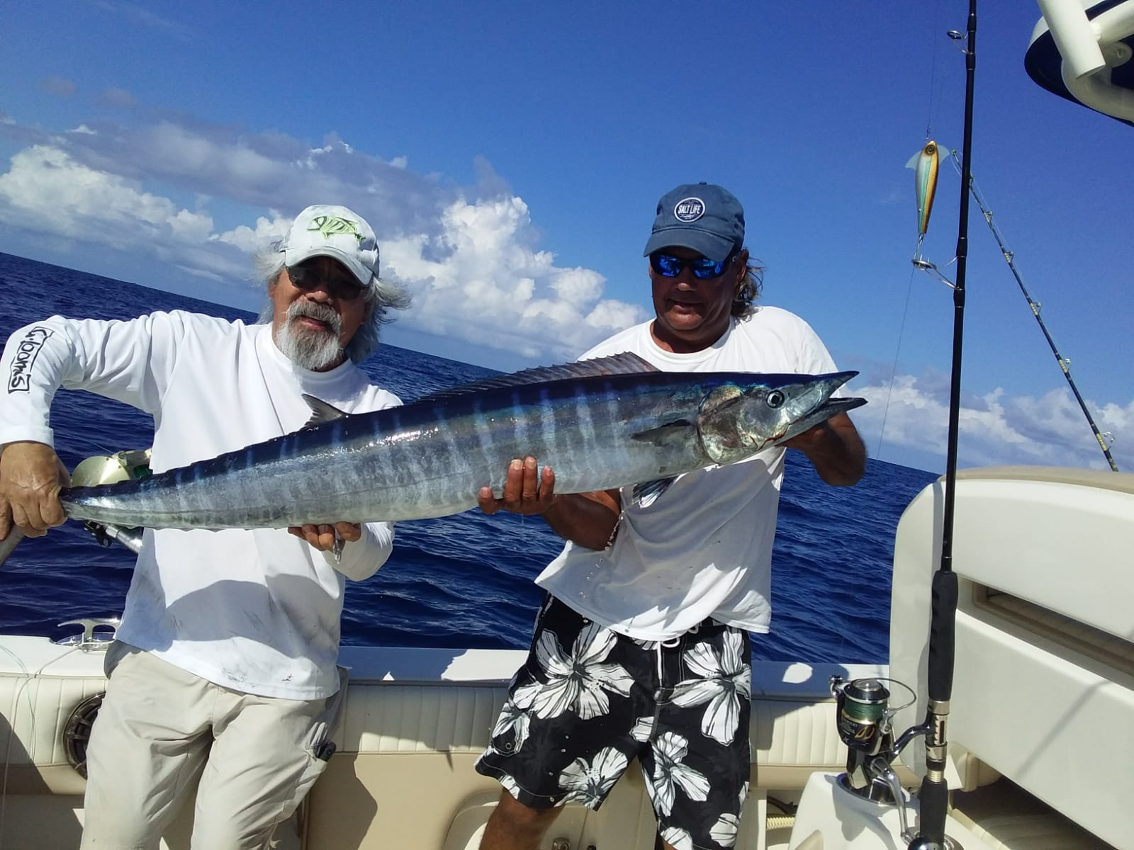 Ono Mahi Marlin Whaoo Silver Sparkle Sailfish Tuna Daisy Chain Leader