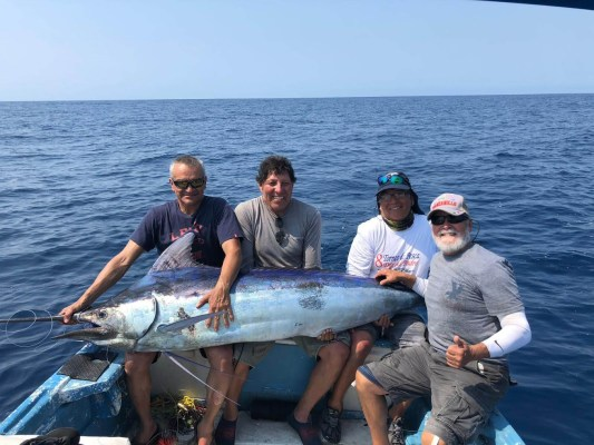 Big Blue Marlin on Wahoo Clipper