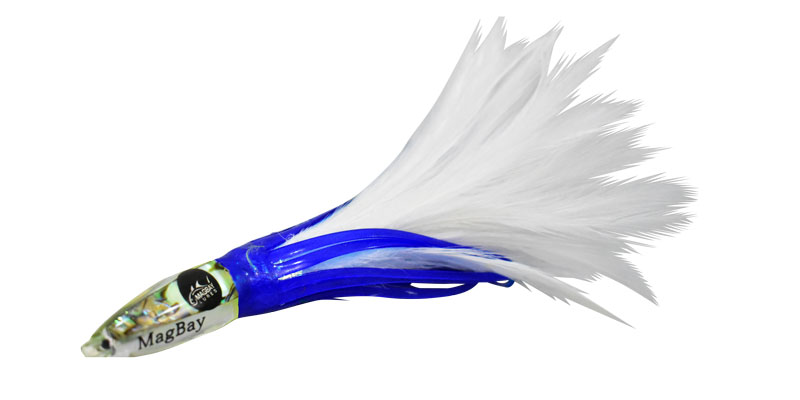 tuna feather blue