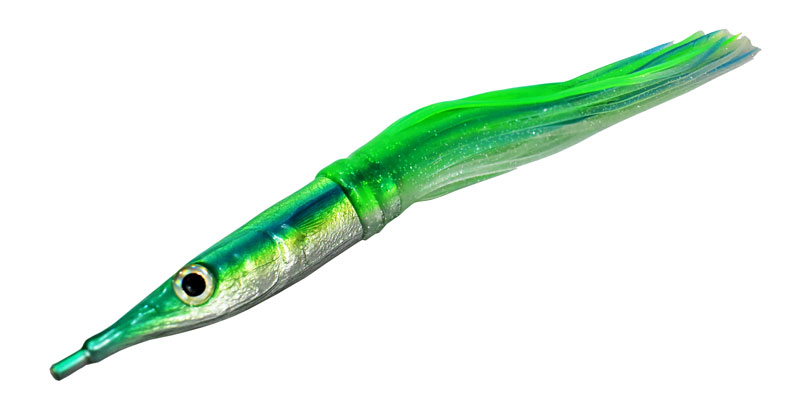 Green Ballyhoo Lure for Mahi and Wahoo