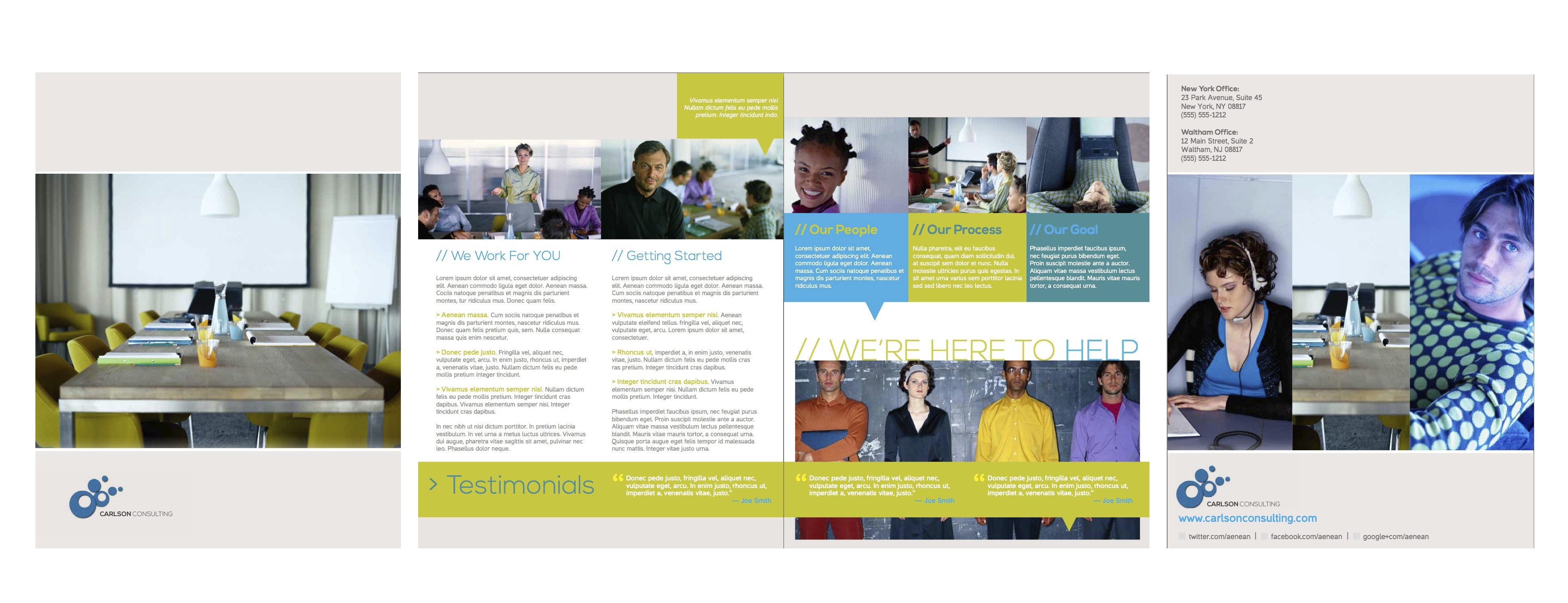 Brochure – Publisher's Corner