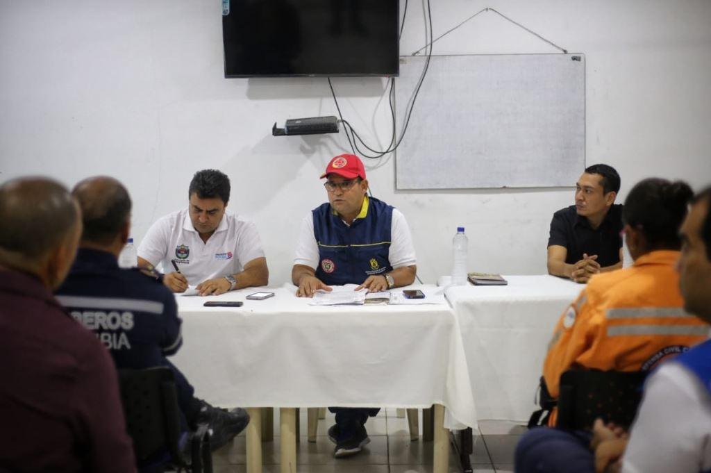 Gobierno de Rosa Cotes articula acciones para prevención de emergencias en los diferentes municipios del Magdalena
