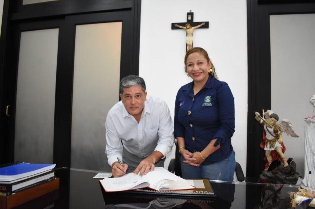 Gobernadora Rosa Cotes hizo cambios en el gabinete departamental