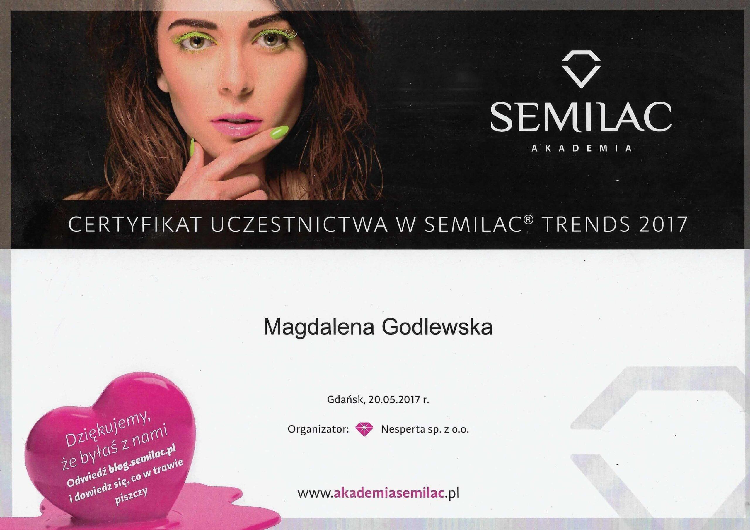 Semilac_certyfikat_Gdańsk