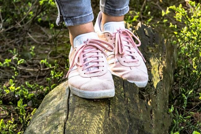 Warum Du niemals pinkfarbene Laufschuhe kaufen solltest.