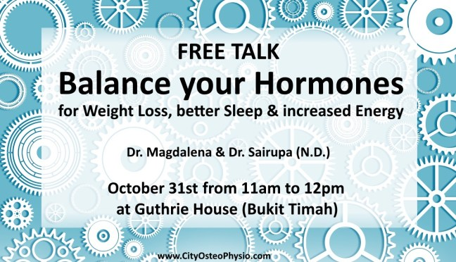 FREE Talk. Balance your Hormones for Weight Loss, Better Sleep and Increased Energy