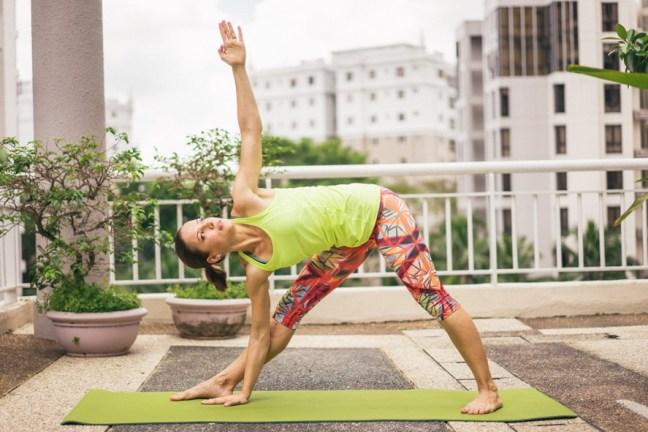 Laufen, Fitness, Yoga & Schwimmen sind die perfekte Kombination für mein Training.