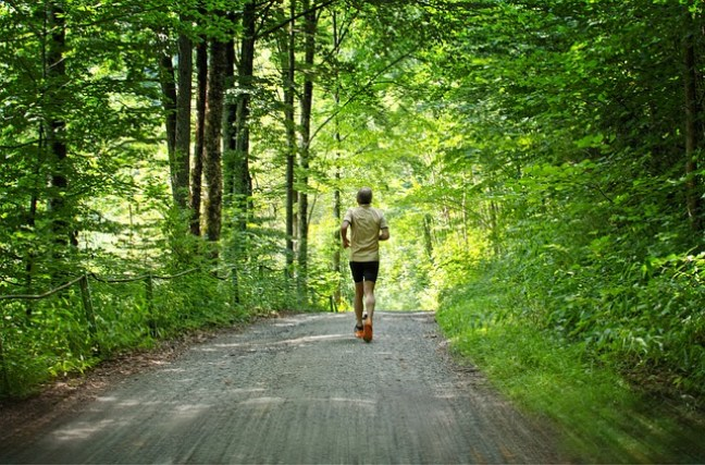 Körperliche Bewegung gehört jeden Tag dazu.