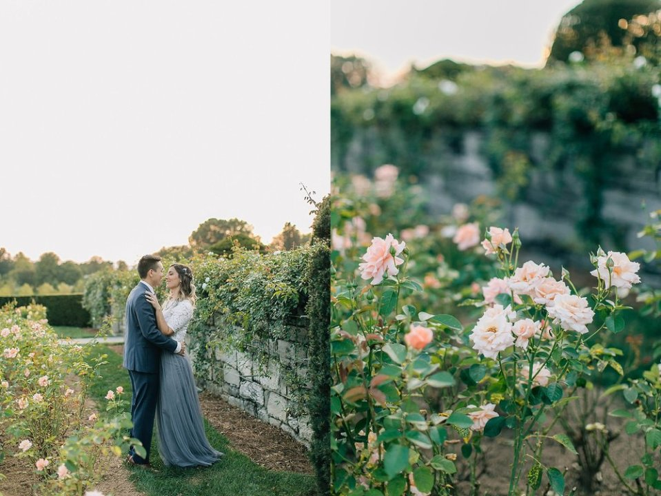 longwood gardens romantic summer engagement photography magdalena studios 0013