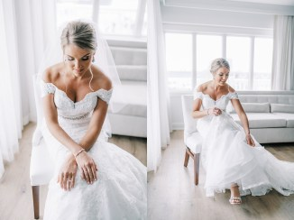 Candid and Sweet Beach Wedding Photography in Sea Isle City, NJ by Magdalena Studios_0011.