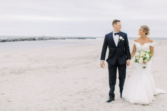 Candid and Sweet Beach Wedding Photography in Sea Isle City, NJ by Magdalena Studios_0036