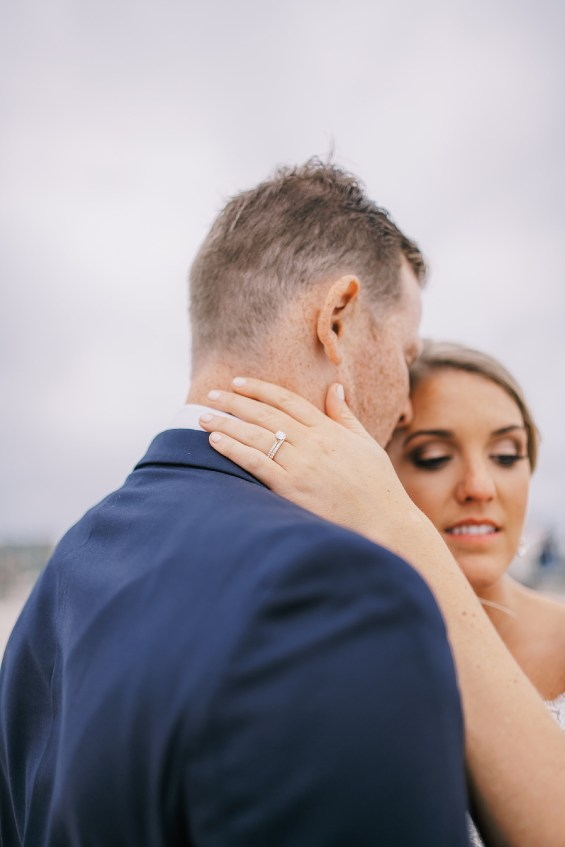 Candid and Sweet Beach Wedding Photography in Sea Isle City, NJ by Magdalena Studios_0040