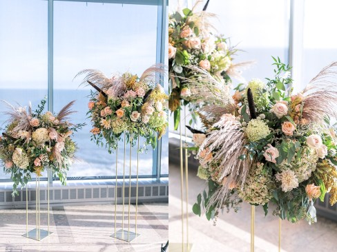 Stylish and Free-Spirited Wedding Photography at One Atlantic in Atlantic City, NJ by Magdalena Studios_0030