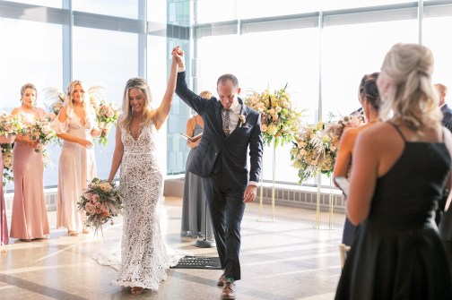 Stylish and Free-Spirited Wedding Photography at One Atlantic in Atlantic City, NJ by Magdalena Studios_0037
