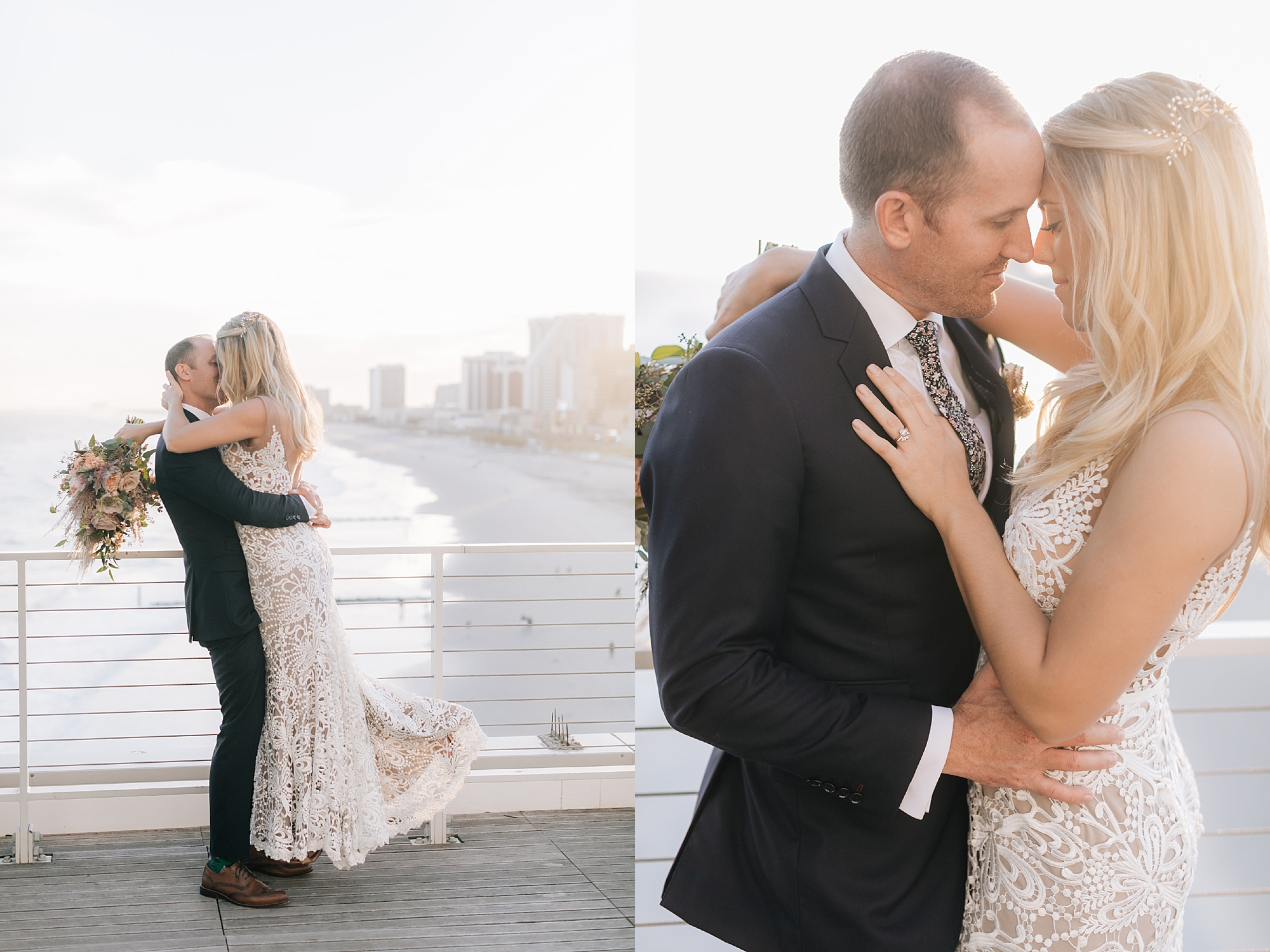 Stylish and Free Spirited Wedding Photography at One Atlantic in Atlantic City NJ by Magdalena Studios 0068 2