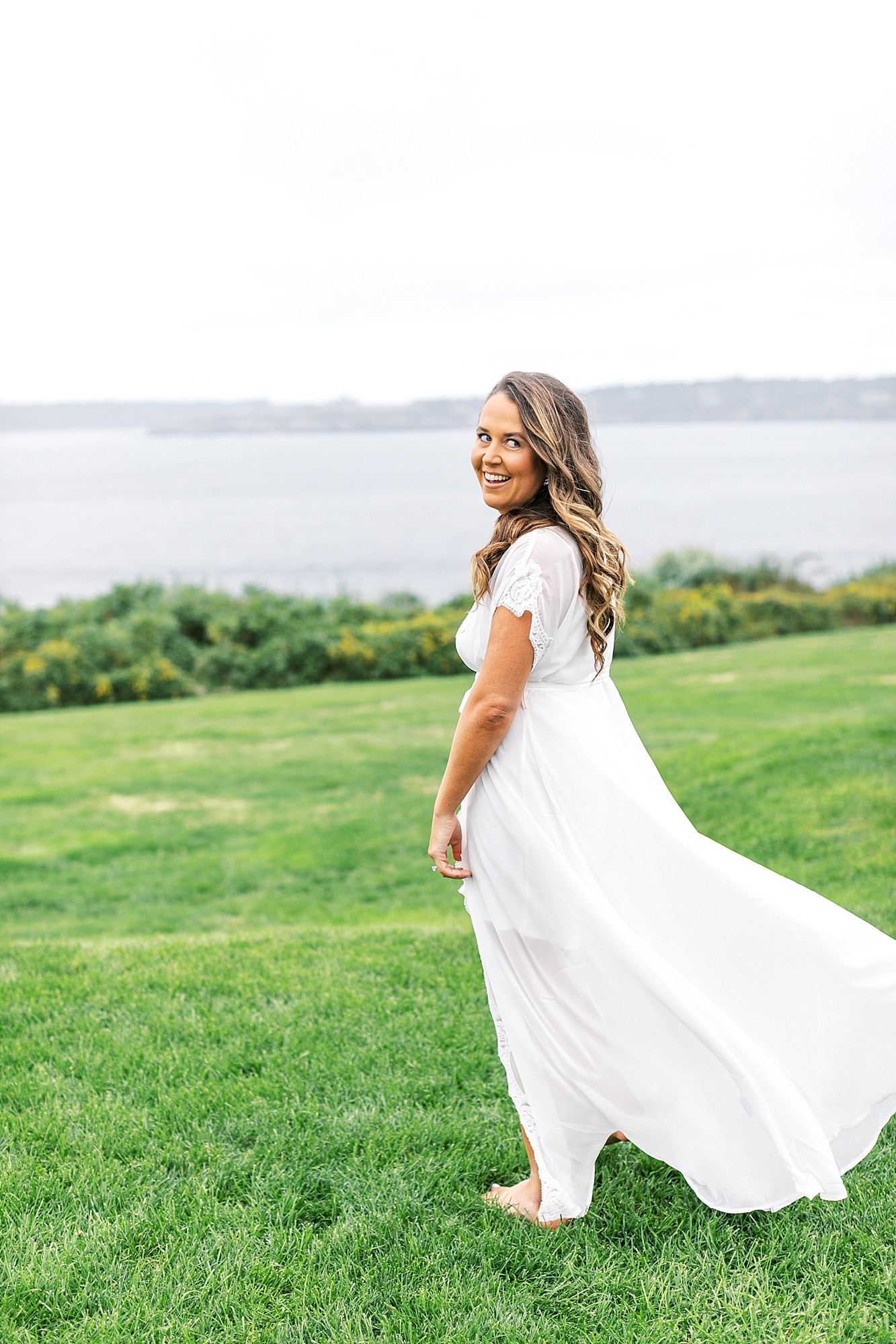 Coastal and Authentic Film Wedding Photography in Newport Rhode Island by Magdalena Studios 0004