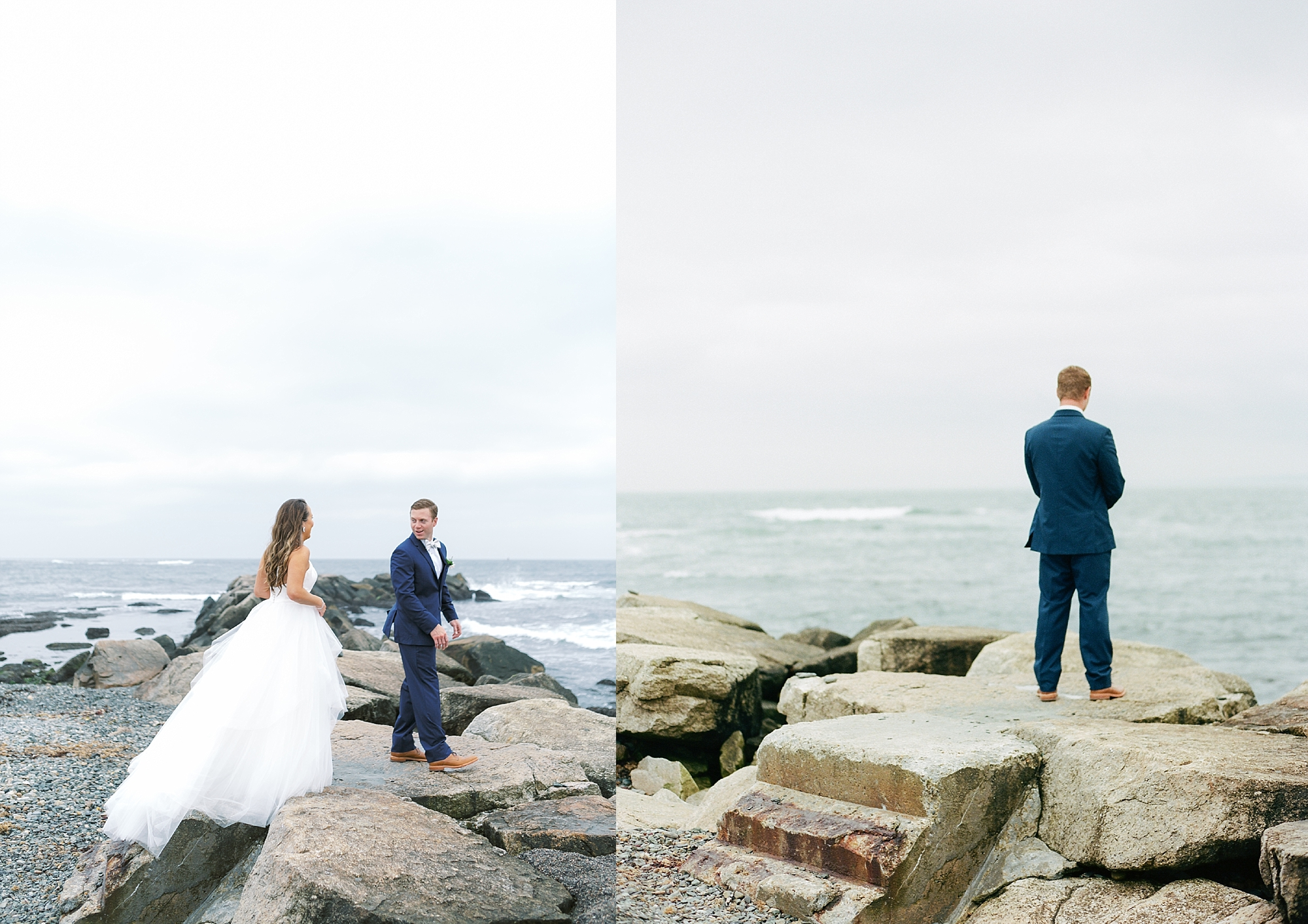 Coastal and Authentic Film Wedding Photography in Newport Rhode Island by Magdalena Studios 0022