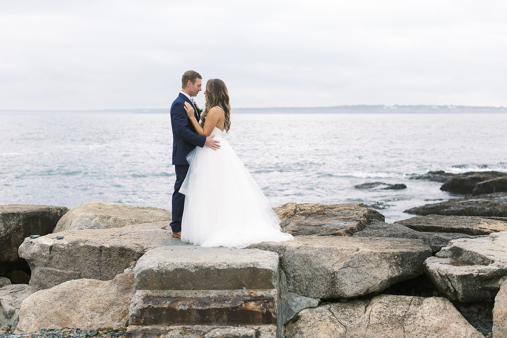 Coastal and Authentic Film Wedding Photography in Newport Rhode Island by Magdalena Studios 0025
