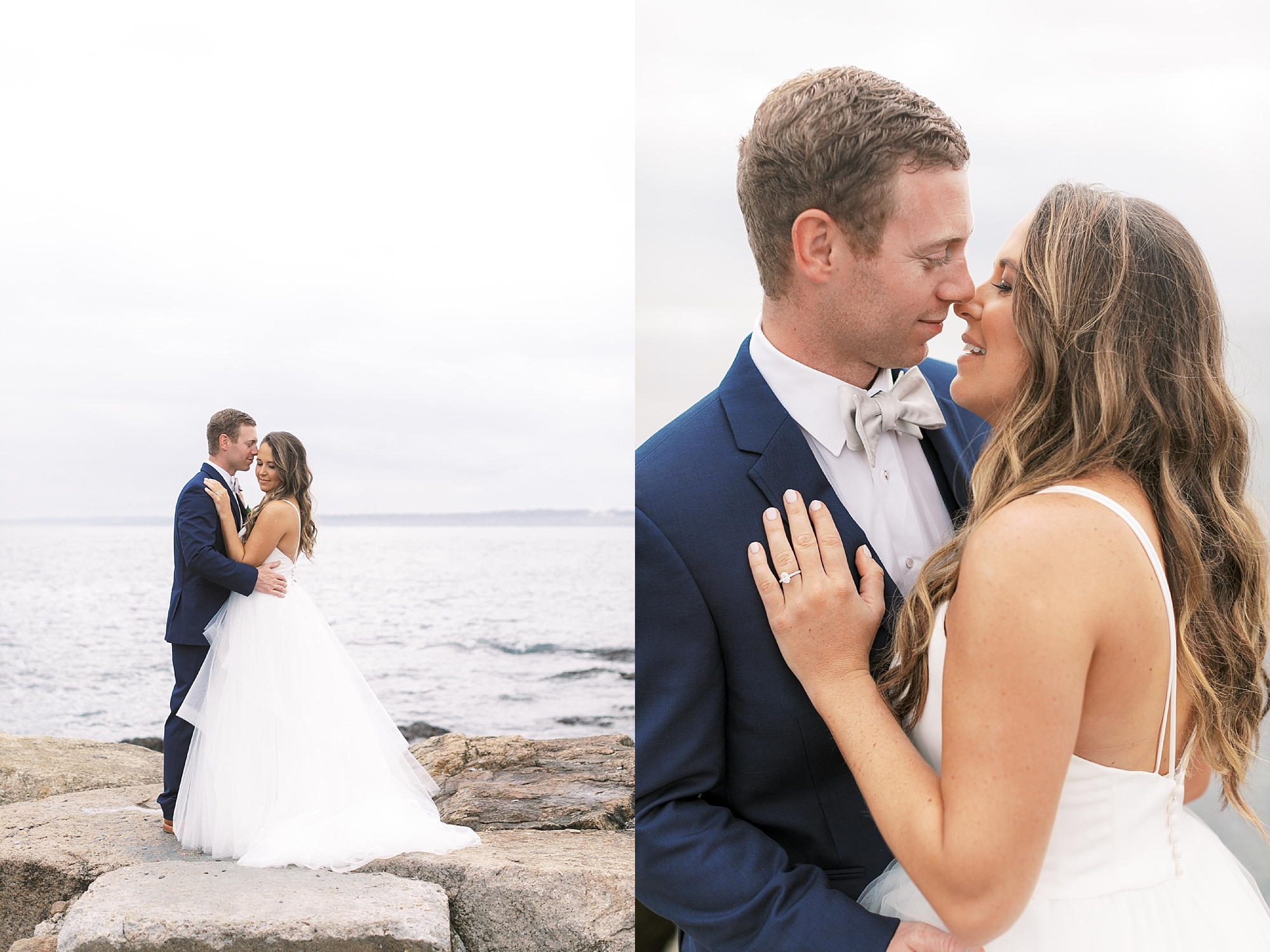 Coastal and Authentic Film Wedding Photography in Newport Rhode Island by Magdalena Studios 0026