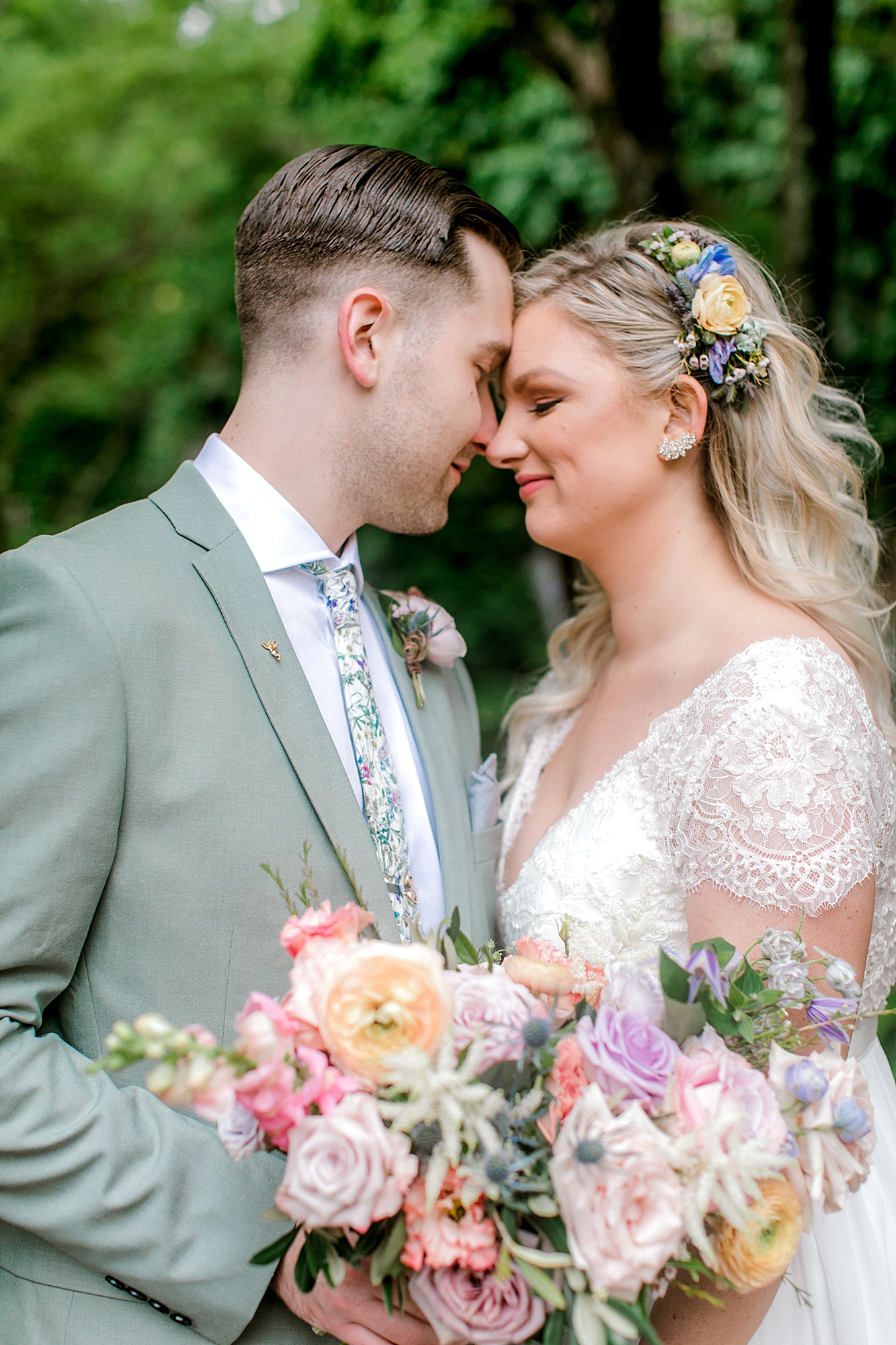 Intimate and Sweet Estate Wedding Photography by Magdalena Studios 0049