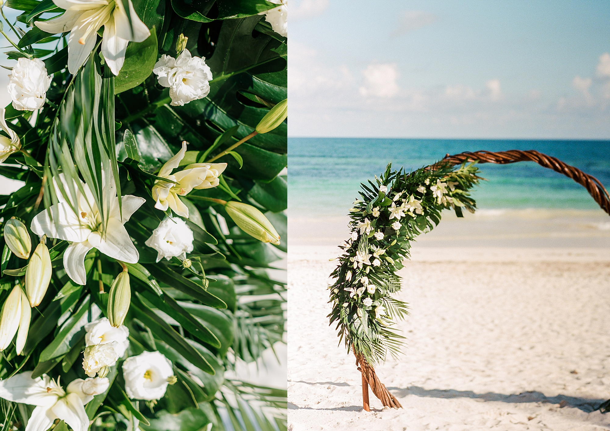 Stylish and Candid Destination Film Wedding Photography in Tulum Mexico by Magdalena Studios 0010