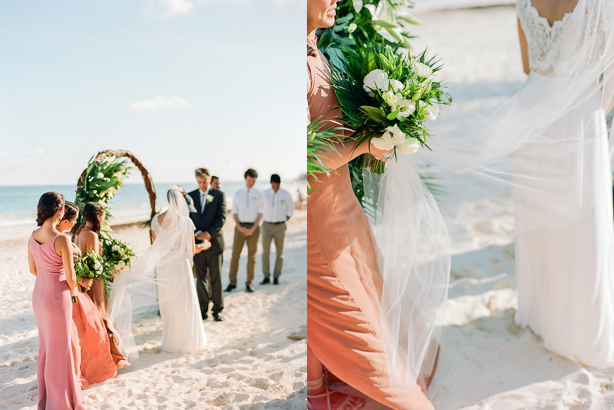 Stylish and Candid Destination Film Wedding Photography in Tulum Mexico by Magdalena Studios 0012